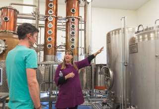 Distillery Tour & Tasting 4 RVs