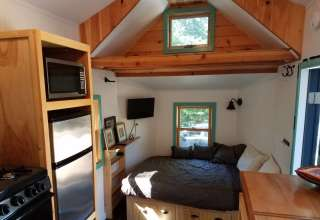 Peaked Mountain TIny House