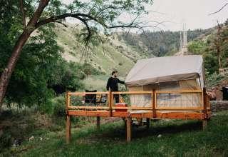 7U Ranch- 2 Furnished Tents