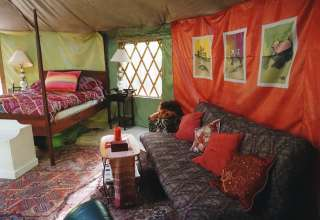 Green gem yurt