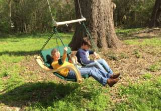 Texas Treehouse Swings Camp