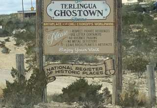 Historic old town Terlingua!