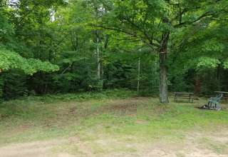 Cabin 3 with camping site
