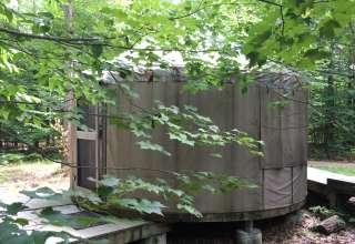 Sleep in a Yurt