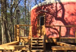 Yurts on the Blue Ridge Parkway