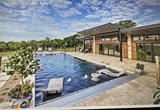 Ranch Pool House