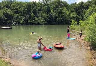 Wildflower RV Camp, Hike + Swim