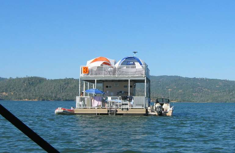 lake oroville camping map Floating Sites Lake Oroville Ca 1 Photo lake oroville camping map