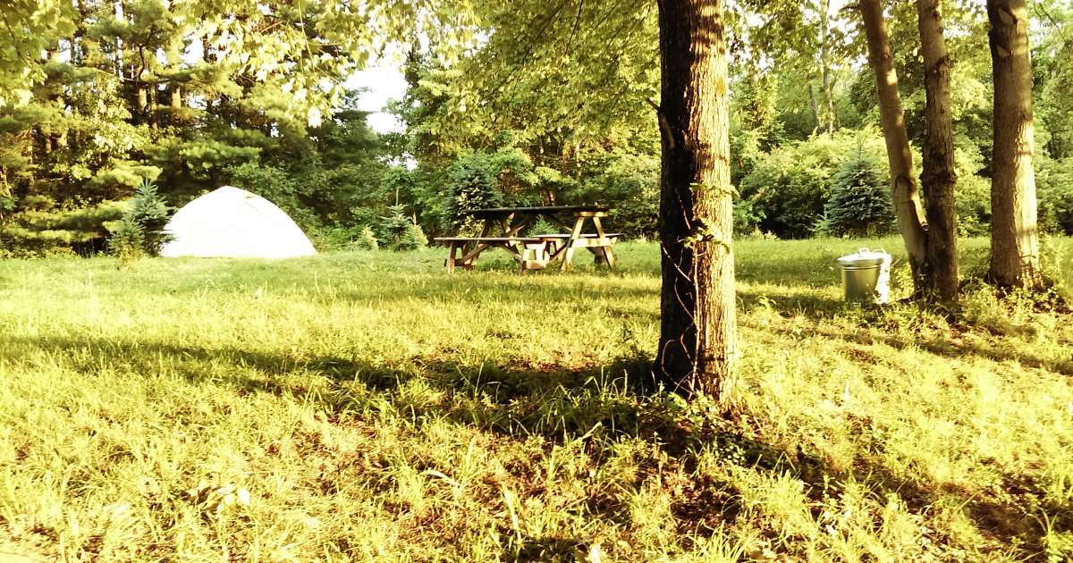 Tent Camp At Heritage Farms In Cvnp, Tent Camping At ...