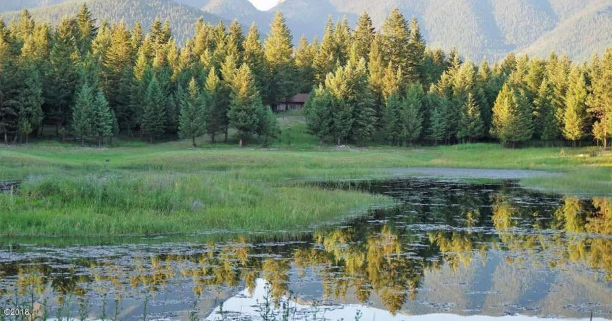 Tent Camping On Moose Pond, Abram's Land On Moose Pond, MT ...