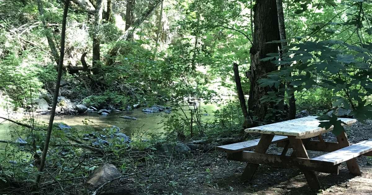 #6 A Tent Camping Along Creek, Camp Nauvoo, CA: 5 ...