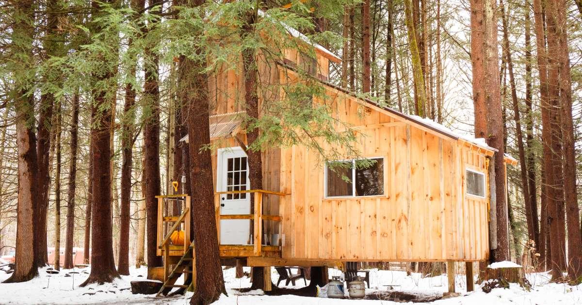 Goodall S Treehouse Cabin Wellnesste Lodge Amp Cabin Rental
