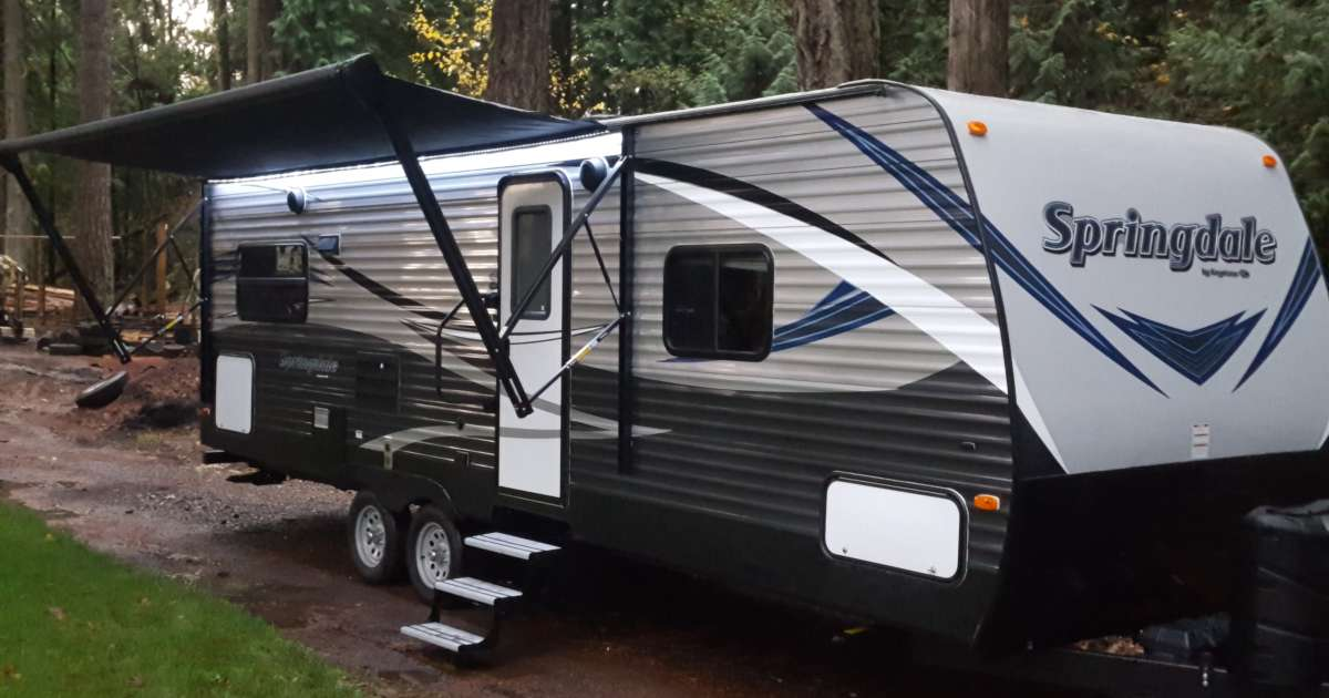 Glamping Camper Rental River S Edge Or 7 Photos