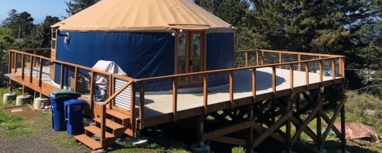 The Otter Rock Surf Yurt Camping Cowboy camping, freedom camping, yurt camping, glamping, and stealth yurt camping on lake hartwell is a fun way to go glamping! the otter rock surf yurt camping