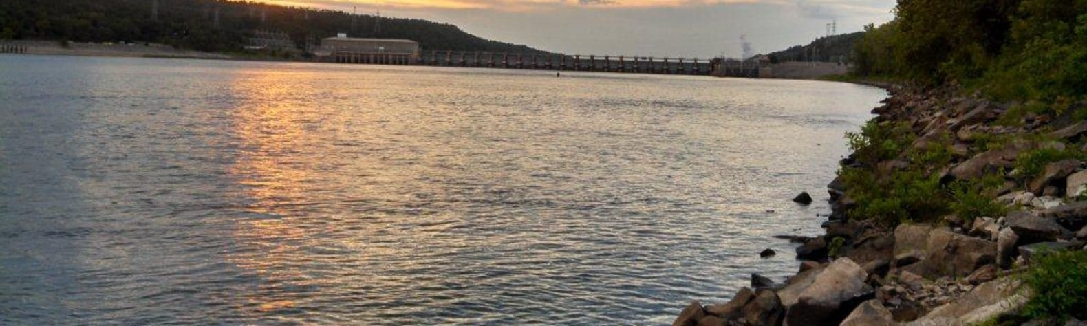 Arkansas River - David D. Terry Lock and Dam