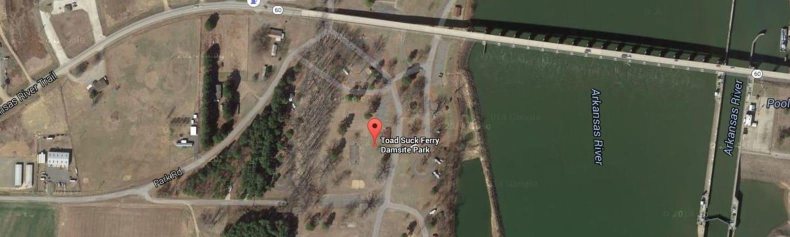 Arkansas River - Toad Suck Ferry Lock and Dam