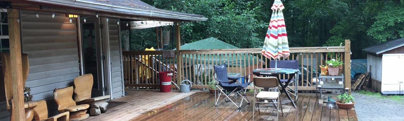 LEAF Urban Cabin Camping