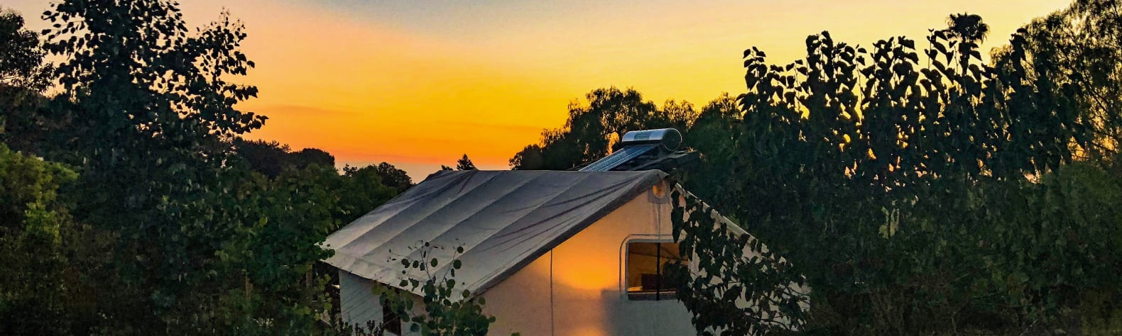 Safari Sunset Eco Glamping