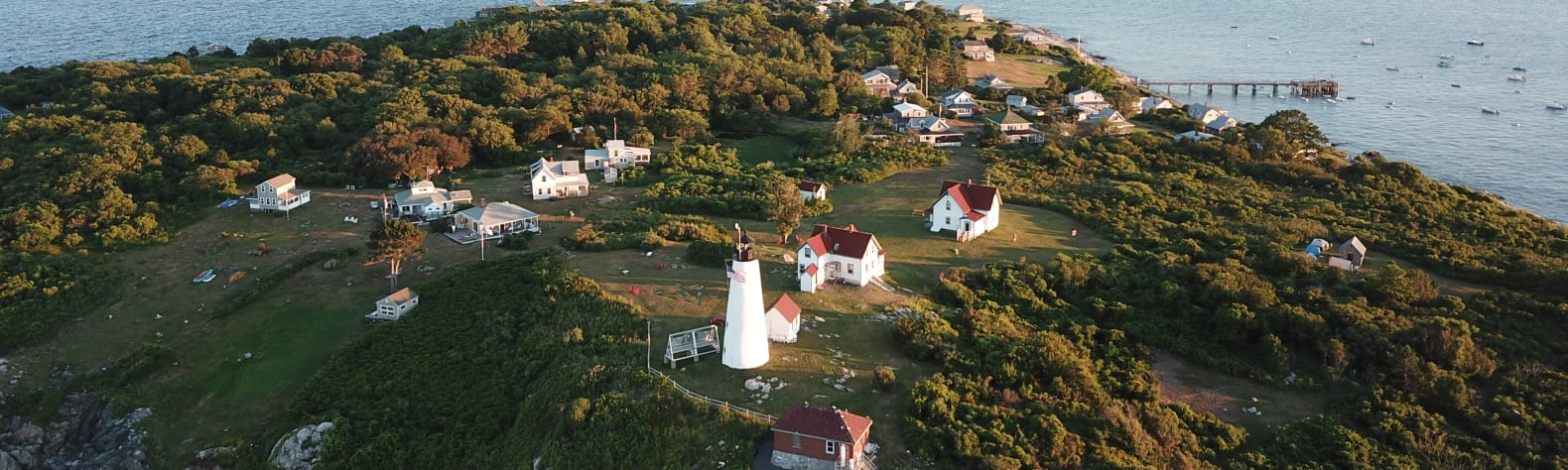 Bakers Island Light Campsite