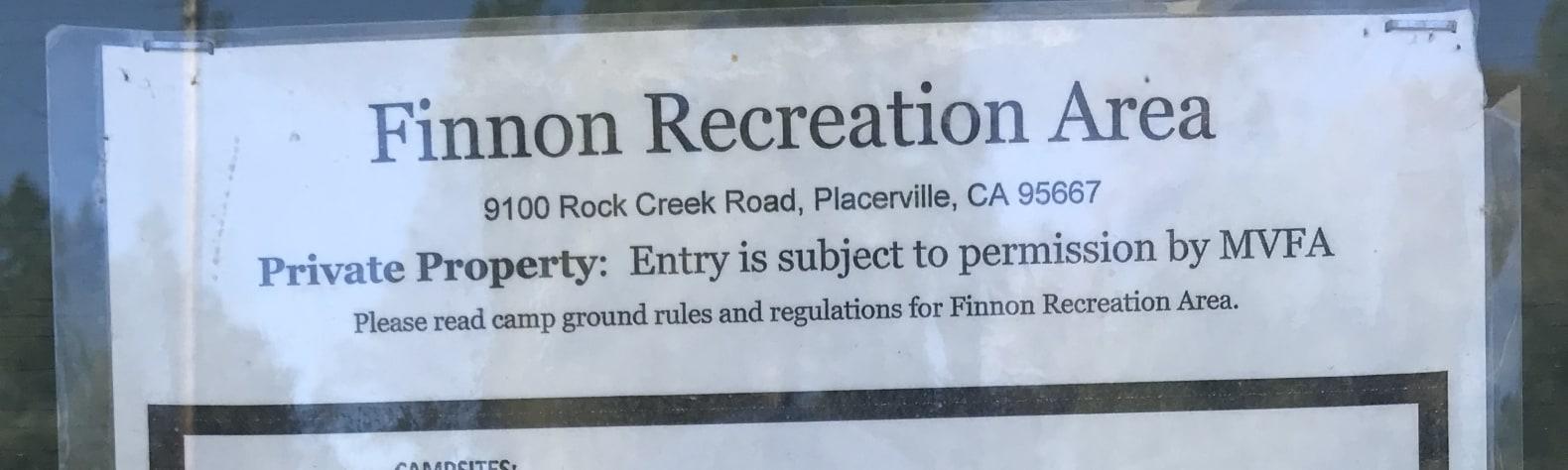Finnon Lake Recreation Area