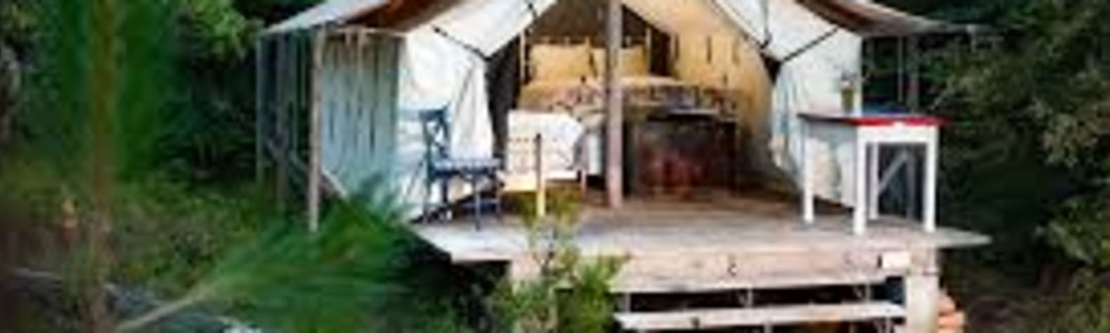 Winterberry Farm's wall tent
