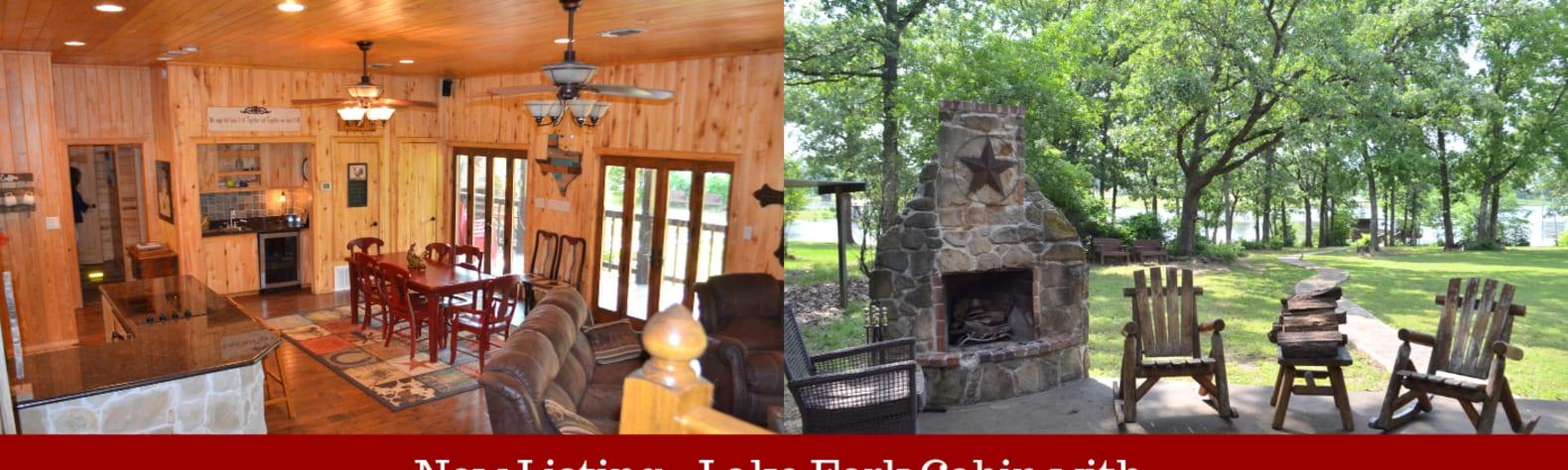 Cozy Lake Fork Cabin-w/boatramp