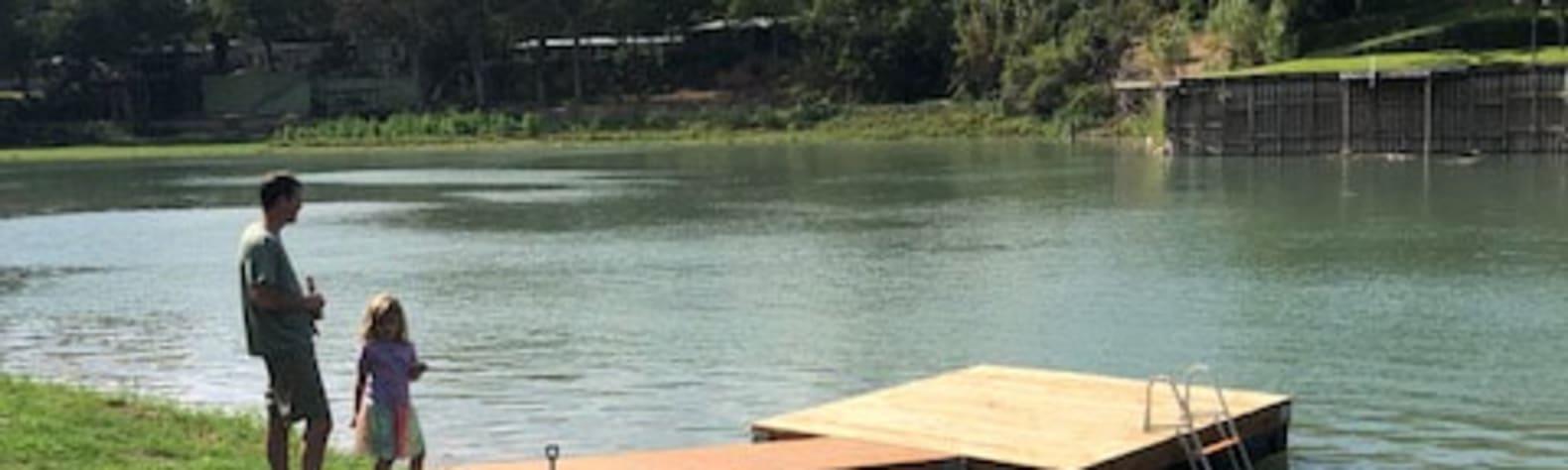 Riverfront Access Fun Amenities