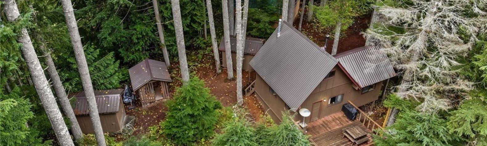 Iron Goat Ski Cabin at Stevens