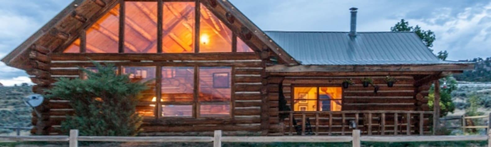 Mountain Rustic Log Home