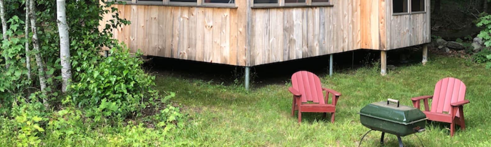 The cabin at White Duck Farm