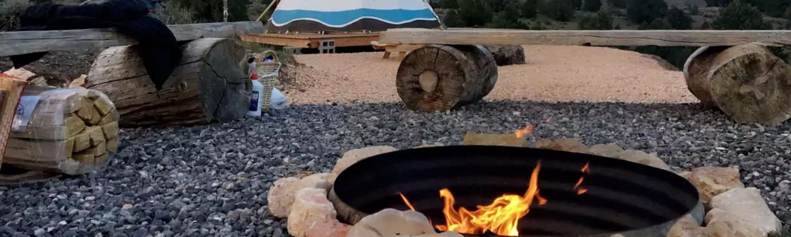 TIPI Site Near Bryce Canyon