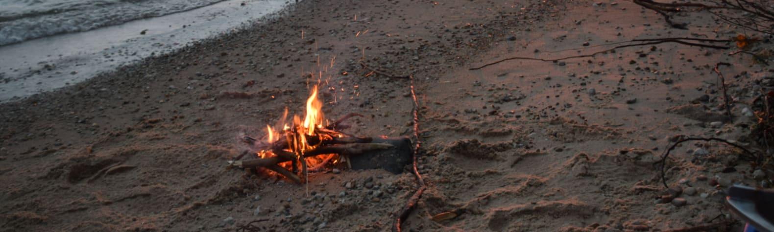 MI Rustic Beach Camp