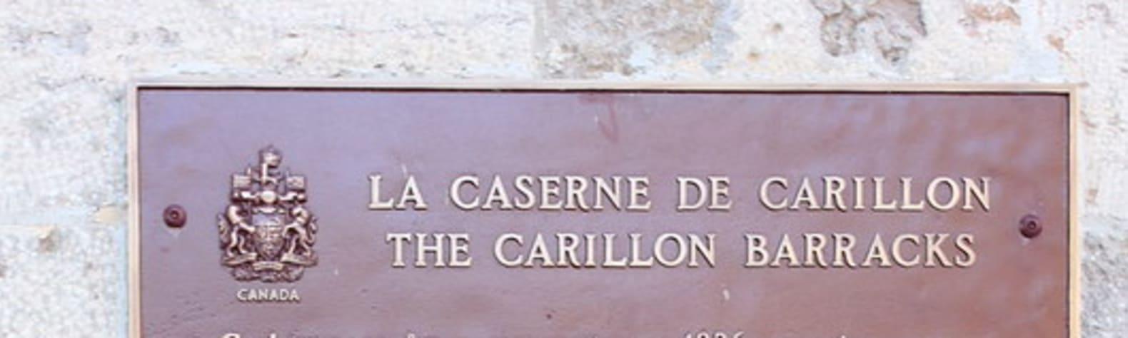 Carillon Barracks National Historic Site