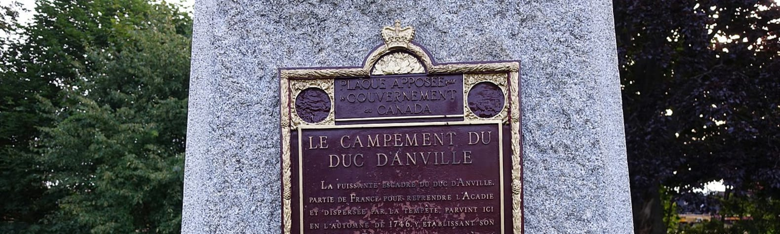 D'Anville's Encampment National Historic Site