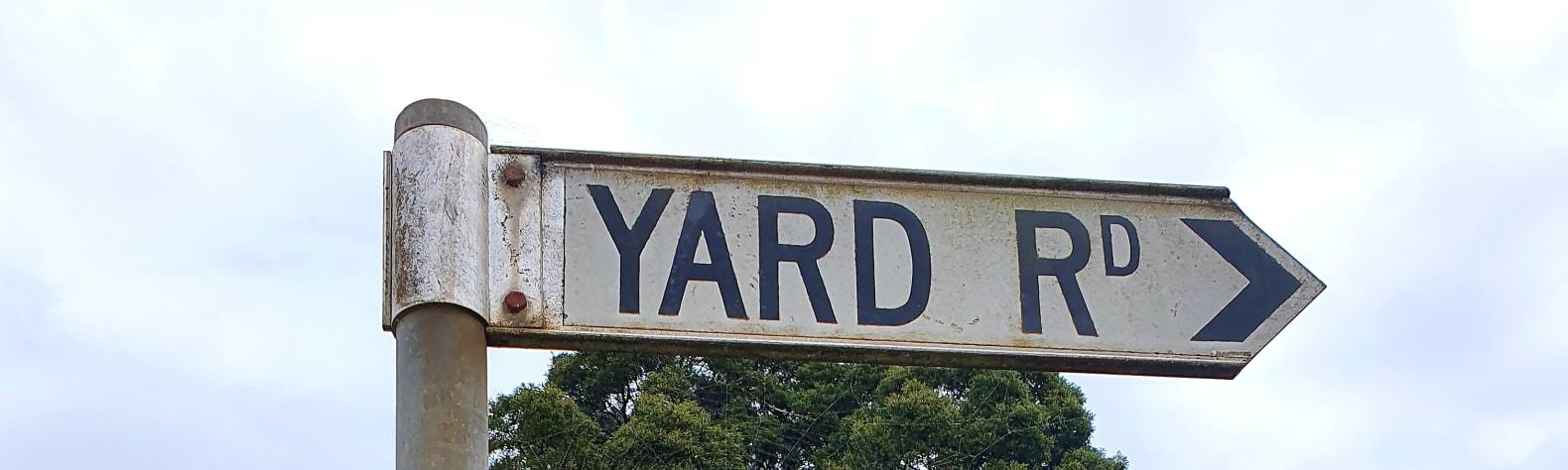 Yard Road
