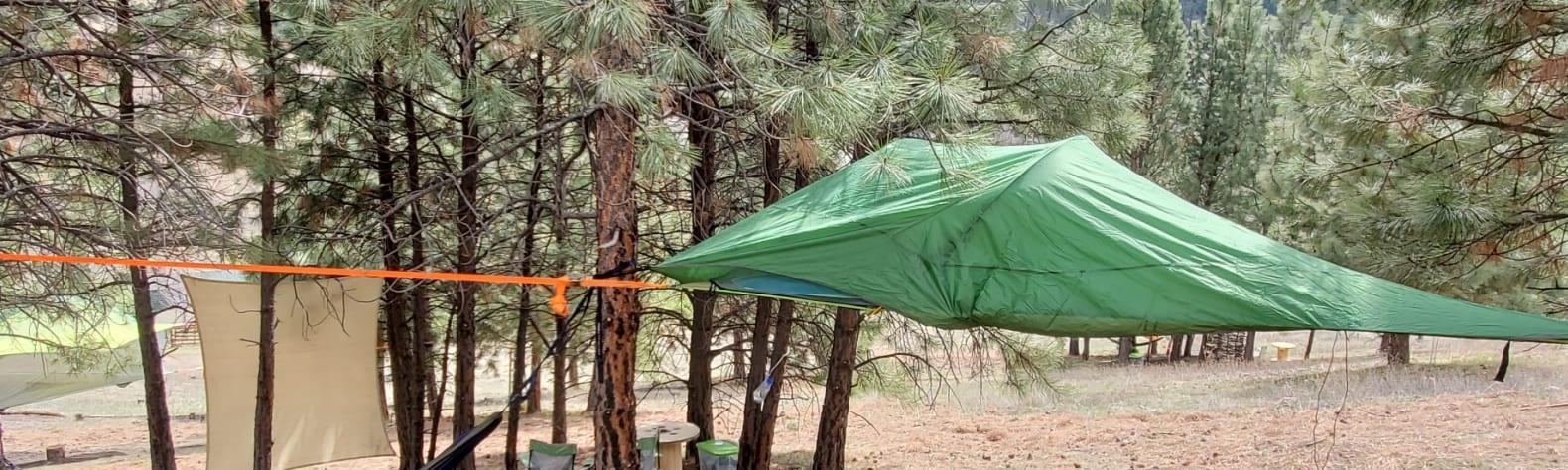 K10 Ranch Tree Tent Experience