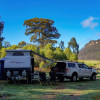 Farm camping with stunning views