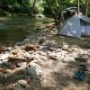Medicine Bear Camp Big Laurel Creek