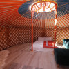 Traditional Yurt with upgrades