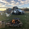 Large/2WD Caravan Hillside Site