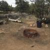 Tent or RV Desert Campsite