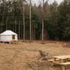 The Yurt at Good Bones Homestead