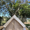 Camping In Yurt Canvas Tent