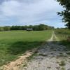 RV camping on a sheep farm