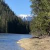Near Coeur d' Alene River camp
