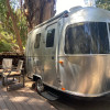Tiny Airstream Surrounded By Trees