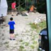 Tents + trailer