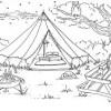 Luxury Cavas Bell Tent (#4)