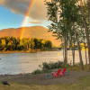 Riverfront Camping Near GNP