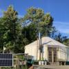 Field Edge 24' off-grid yurt